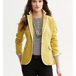 Banana republic perfect gold tipped blazer 6